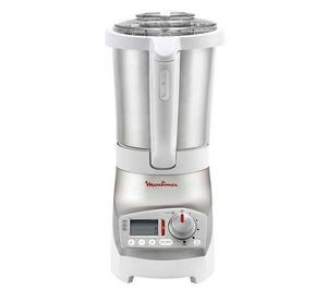 Moulinex - blender chauffant soup & co lm9001b1 - blanc/inox - Blender
