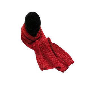 WHITE LABEL - echarpe grosse maille douceur laine - Schal