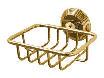 Cristal Et Bronze - cannelé - Wandseifenhalter