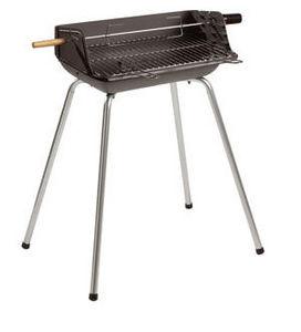 INVICTA - barbecue mombassa en fonte et acier 67x53x86cm - Holzkohlegrill