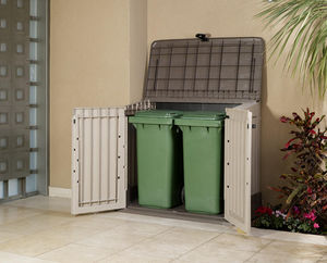Chalet & Jardin - coffre de jardin caracas 800l en résine 132x74x110 - Gartentruhe