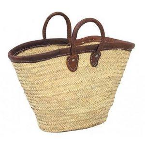 Aubry-Gaspard - cabas en palmier - Einkaufstasche