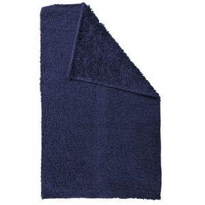 TODAY - tapis salle de bain reversible - couleur - bleu m - Badematte