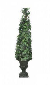 Demeure et Jardin - lierre grimpant sur urne médicis - Künstlicher Baum