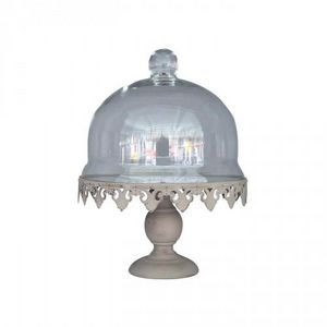 Demeure et Jardin - cloche à gateau - Kuchen Glaskuppel