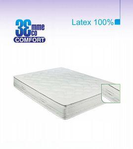 ECO CONFORT - matelas eco-confort 100% latex 7 zones 130 * 190 - Latexmatratze
