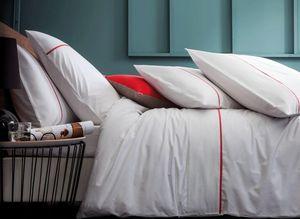 BLANC CERISE - simplicites gourmandes blanc - Oberbettbezug