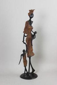 FARAFINA TIGNE - LA REALITE DE L'AFRIQUE -  - Kleine Statue