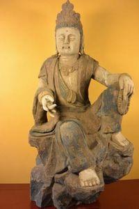 OBJETS CHINOIS -  - Kleine Statue