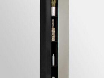 UsiRama.com - colonne de salle de bain suspendue miroir 1.7m - Badezimmerschrank