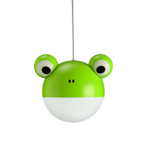 Philips - anora - suspension grenouille vert ø27,5cm | lustr - Kinder Hängelampe