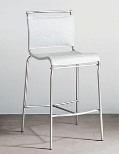 Calligaris - chaise de bar italienne air de calligaris structur - Barstuhl