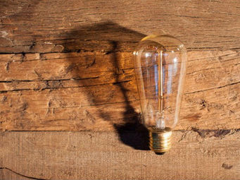 UTTERNORTH - ampoule poire - Glühbirne Filament
