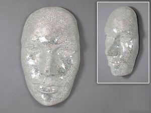 WHITE LABEL - masque extase blanc. - Maske