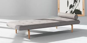 INNOVATION - napper méridienne lit innovation living gris clair - Liegesofa