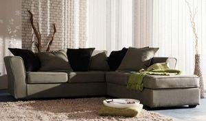 Home Spirit - canapé d'angle convertible watson tweed naturel m - Bettsofa