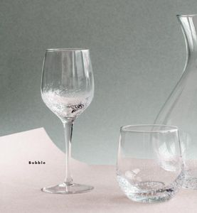 Broste Copenhagen - bubble - Stielglas