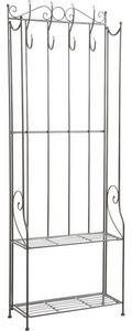 Aubry-Gaspard - etagère porte-manteaux en métal - Kleiderständer