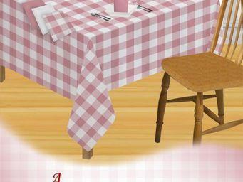 ITI  - Indian Textile Innovation - checks - Tischdecke Und Passende Servietten