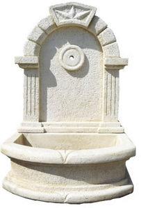 DECO GRANIT - fontaine en pierre reconstituée 70x40x105cm - Wandbrunnen