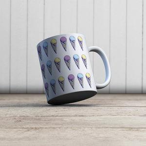 la Magie dans l'Image - mug glaces pastel - Mug
