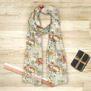 la Magie dans l'Image - foulard flow - Vierecktuch