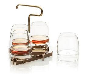 FFERRONE DESIGN - rare presenter set - Whiskyglas