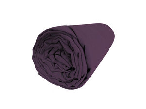 BLANC CERISE - drap housse - percale (80 fils/cm²) - uni - Spannbettlaken
