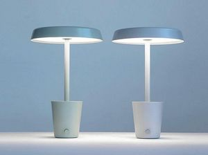PAUL LOEBACH - cup lamp-- - Led Stehlampe