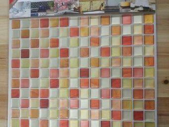 BEAUSTILE - mosaic crack orange -