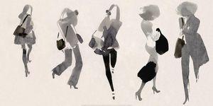 Nouvelles Images - affiche femmes actives - Plakat