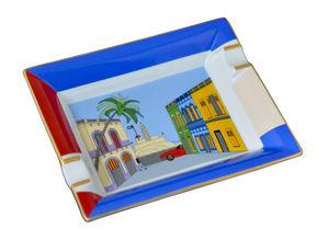 ELIE BLEU - casa cubana - Zigarrenaschenbecher