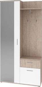 LYNCO - meuble d'entrée 2 portes et 1 tiroir - Eingangsmöbel