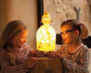 L'Oiseau Bateau - magicienne - Kinder Tischlampe