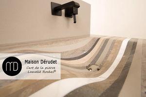 Maison Derudet - lamellé roche - Waschbecken