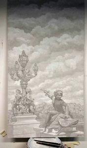 Atelier Follaco - pont alexandre iii - Wanddekoration