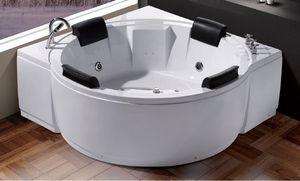 ITAL BAINS DESIGN - k1218 - Whirlpool Eckbadewanne