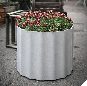 Eternit - kolonna - Blumenkübel