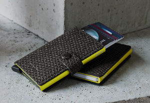 SECRID - miniwallet diamond black - Kreditkartentasche