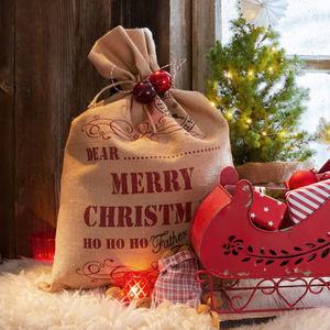 LOBERON -  - Weihnachtsmann Sack
