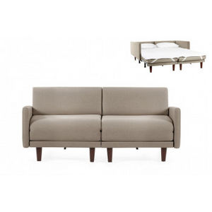 Likoolis - pacduo80l-filotaupe - Schlafcouch