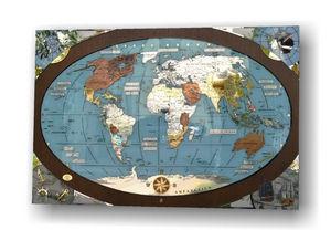 ITAS PLANISFERI - murano - Weltkarte