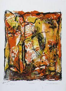 A FLEUR DE PIERRE -  - Lithographie