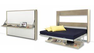 mobilier moss -  - Hochklappbares Bett