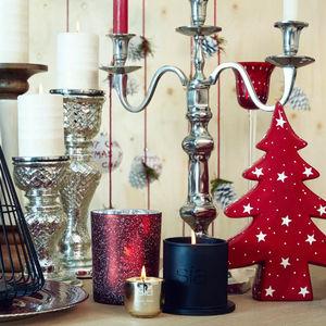 SIA - sapin rouge - Weihnachtsschmuck