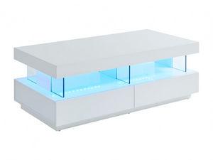 Vente-Unique.com - table basse fabio - Leuchtender Couchtisch
