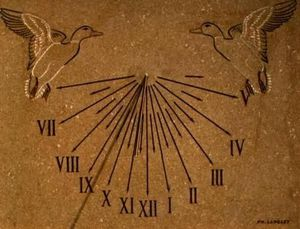 Cadran solaire Philippe Langlet -  - Sonnenuhr