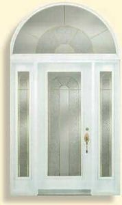 Aluminium Pierre -   - Eingangsglastür