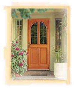 Pasquet -  - Verglaste Eingangstür