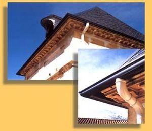 Gouttiere Alu Systeme - aluminium - Dachrinne